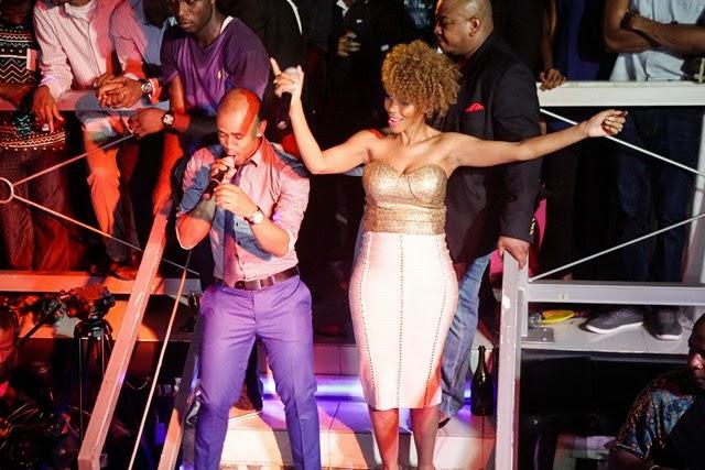 4 Pics: Davido, Mafikizolo, Kcee,Sound Sultan @Tchelete video launch