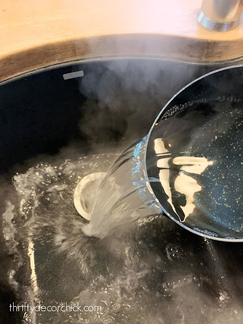 kitchen sink clog hack