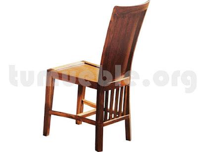silla comedor en teca 4040