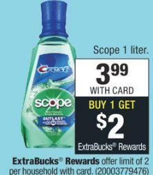 free scope cvs deal