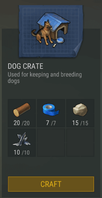 Cara Membuat DOG CRATE Last Day On Earth Survival