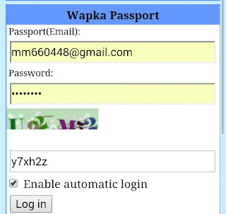 wapka Login add sitemap