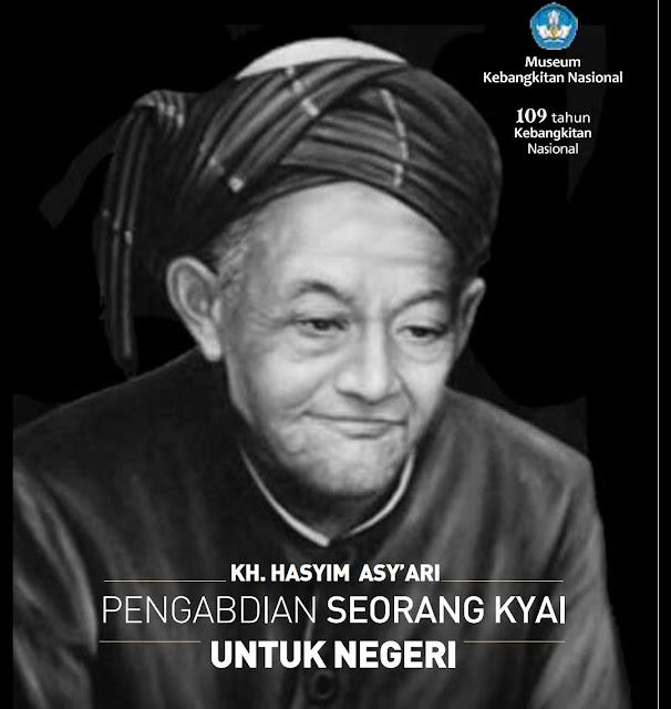 Al fatihah untukmu beliau KH Hasyim Asyari