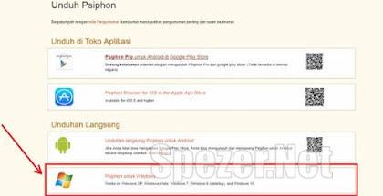 Cara Internet Gratis Psiphon di Android dan PC komputer/ Laptop