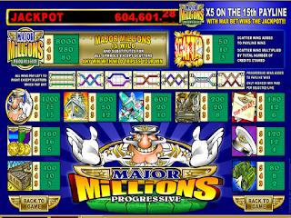 Major Millions Poker Slot