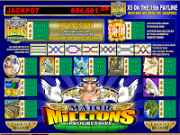 Major Millions Poker Slot
