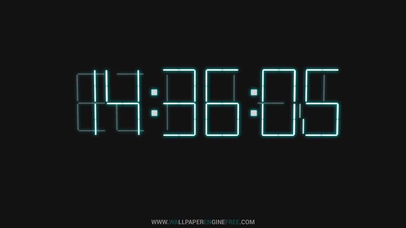 3d clock wallpaper - photo #36