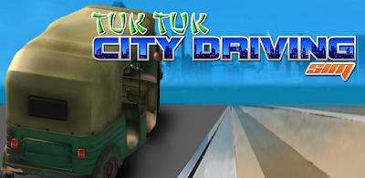 download game tuk tuk city driving sim