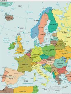 Benua Eropa, Batas-Batas dan Geografis Serta Iklim