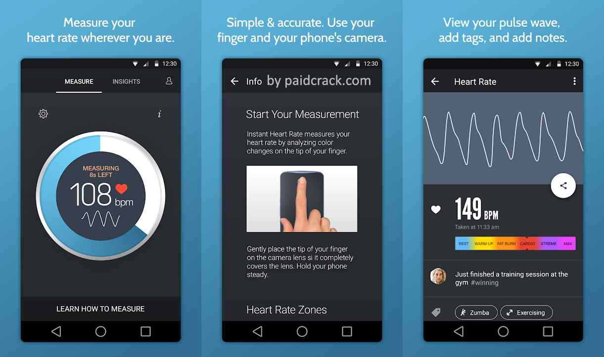 Instant Heart Rate Pro Mod Apk 5.36.8253 [Full Paid]