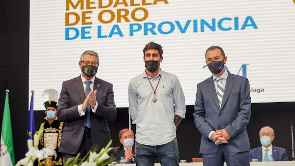 """José María Muñoz - Málaga -: """"Este premio es para la afición malaguista que tanto ha sufrido este tiempo"""""""