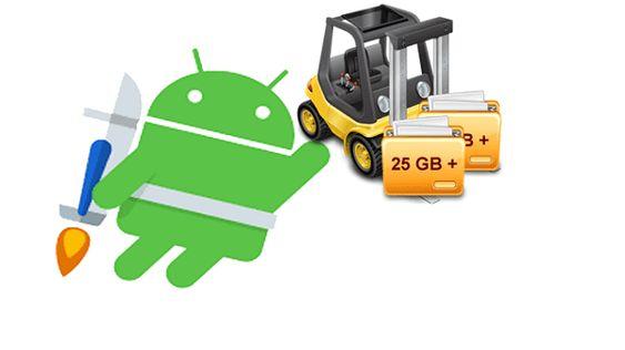 افضل 4 تطبيقات لأرسال واستقبال الملفات الكبيرة بسهولة لأجهزة الأندرويد