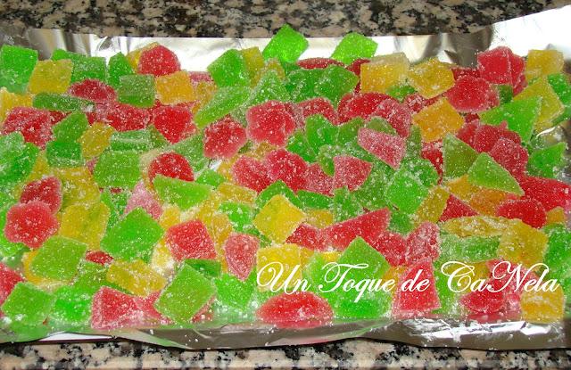 Gominolas Con Jugo De Frutas