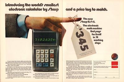 Sharp Calculator $345