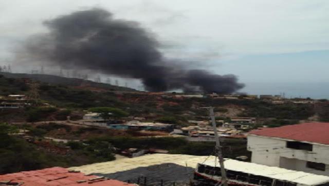 Explosión en planta de Tacoa deja sin luz a zonas de Vargas este #9Sep