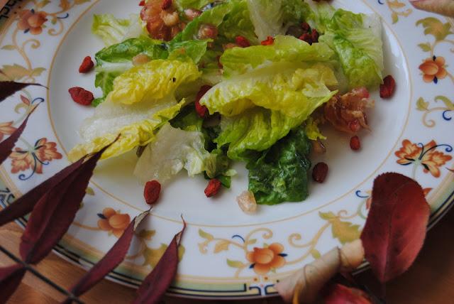 salatka z jagodami goji