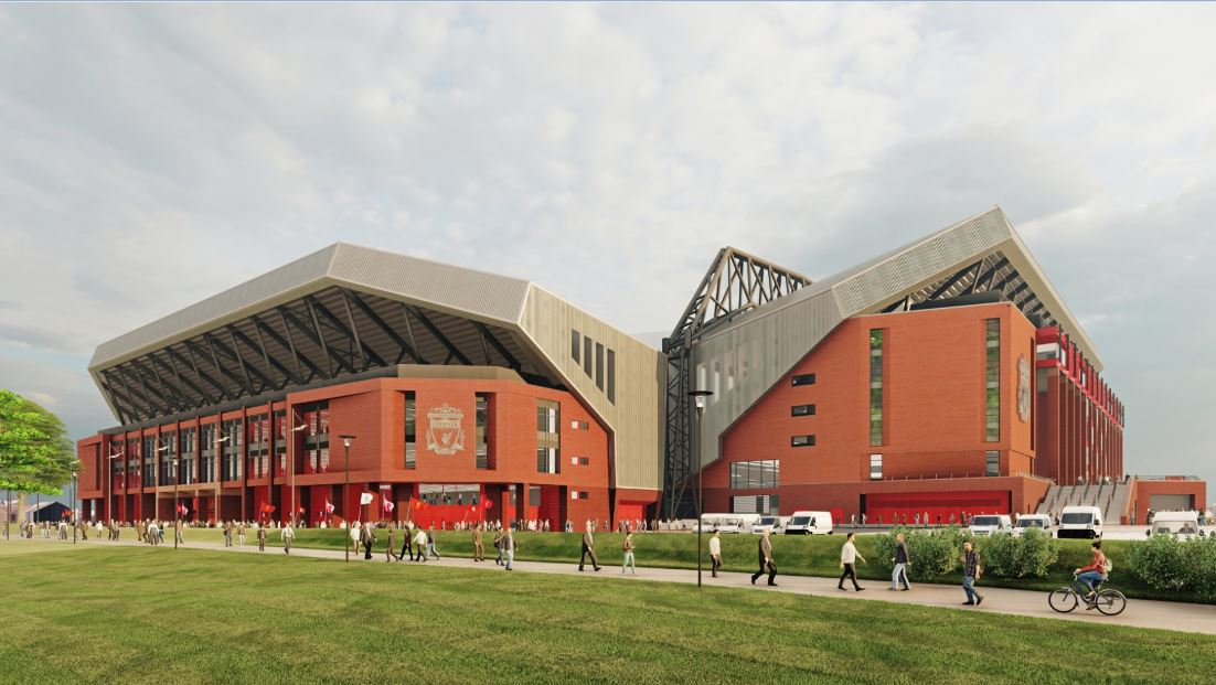 Anfield, Liverpool.