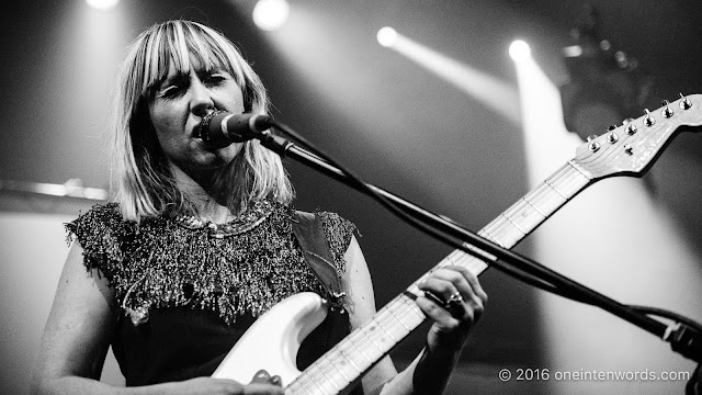 The Joy Formidable at The Danforth Music Hall on October 9, 2016 Photo by John at One In Ten Words oneintenwords.com toronto indie alternative live music blog concert photography pictures