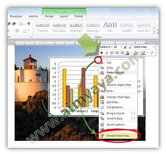 Cara Membuat Background Grafik Chart Menjadi Transparan Cara Aimyaya Cara Semua Cara