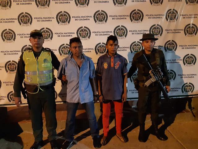 En pleno centro de Maicao un venezolano y un wayuu atracaron a un hombre
