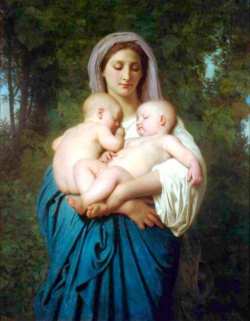 Адольф Вильям Бугро - Милосердие (1859)