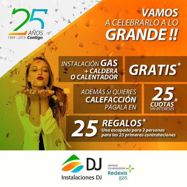 promoción instalación gas + caldera/calentador gratis INSTALACIONES DJ Zaragoza
