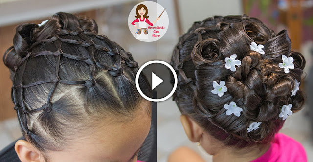 Learn, How To Create Beautiful Hairstyle With Knots!