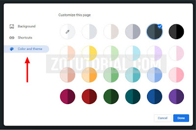 Ganti Warna dan Wallpaper di Browser Google Chrome Terbaru