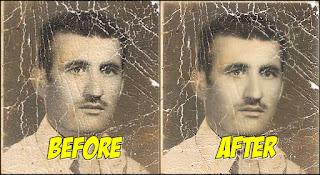 Cara Memperbaiki Foto Lama Yang Sudah Rusak Di Android