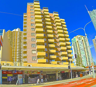Paradise Towers and Shops
