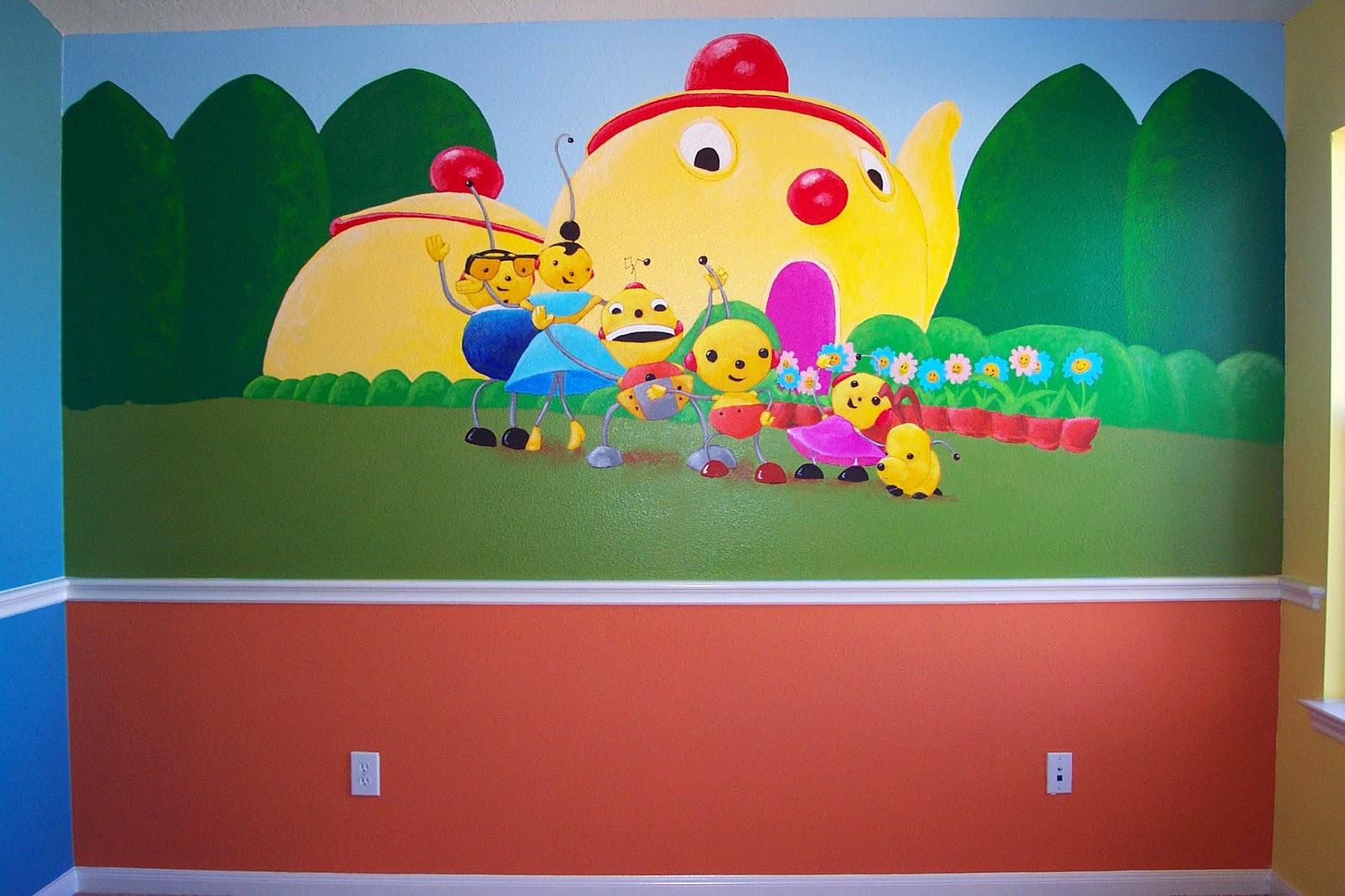 Murals By Glenn Ruthven September 2013