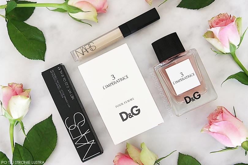 korektor nars, perfumy d&g l'imperatrice