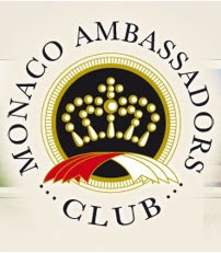 "Proud member of the              ""Monaco Ambassadors Club"""