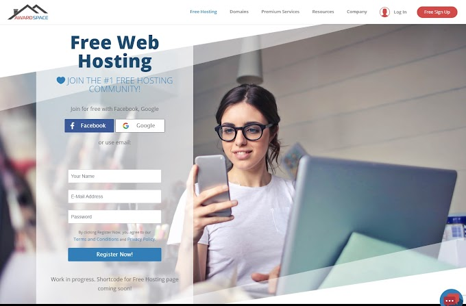 Review Singkat Hosting Gratis dari Awardspace