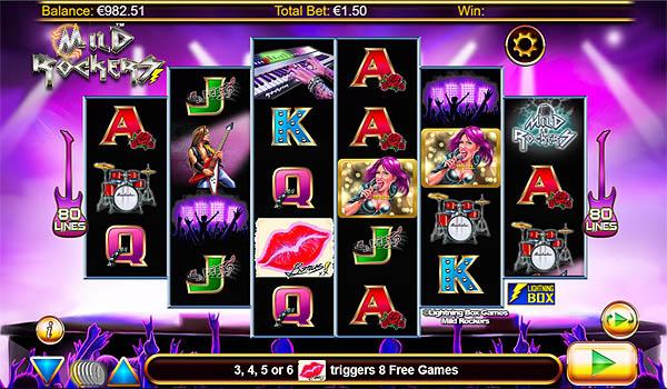 Main Gratis Slot Indonesia - Mild Rockers Lightning Box