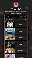 Thop TV premium mod apk Screenshot - 5