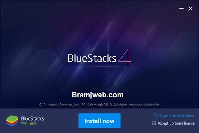تحميل برنامج 2020 bluestacks بلوستاك للكمبيوتر من ميديا فاير