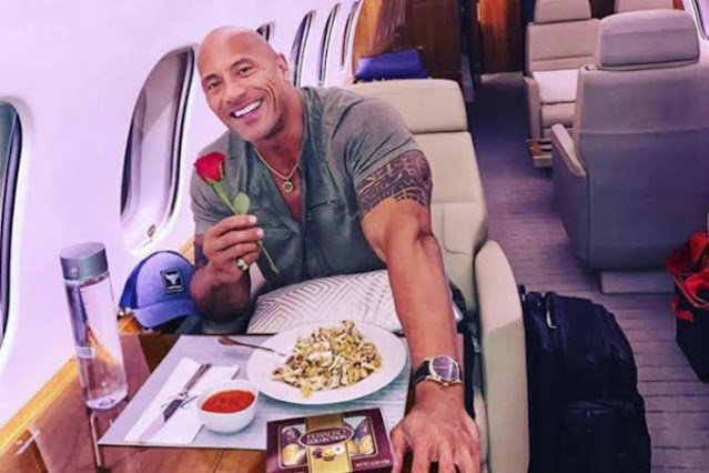 Most Expensive Things owned by Dwayne Johnson - Gulfstream Jet