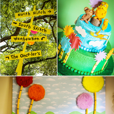 An Incredible Lorax Inspired Birthday Party