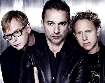 Foto de Depeche Mode posando