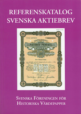 front cover of the Referenskatalog Svenska Aktiebrev