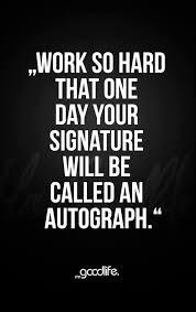Autograph Quotes English