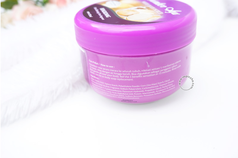 Review Sumber Ayu White Body Scrub