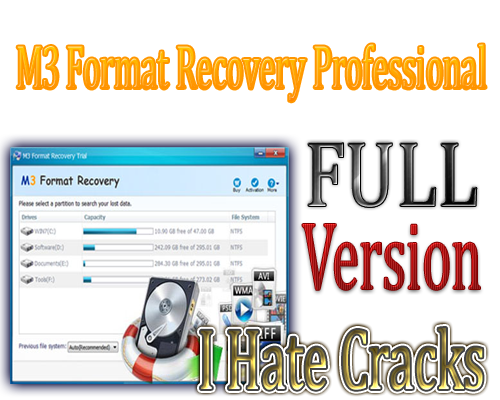 Get M3 Format Recovery Professional Full Version For Free