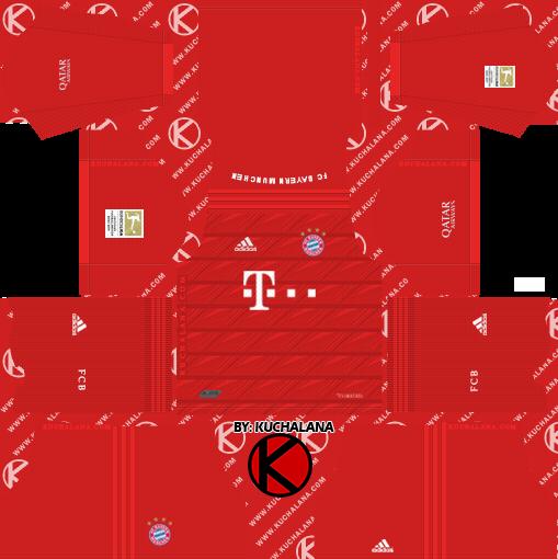 FC Bayern Munich 2019/2020 Kit - Dream League Soccer Kits