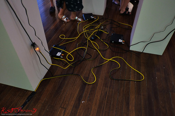 Cords  Arbiters at KUDOS Gallery photographed by Kent Johnson for Street Fashion Sydney.