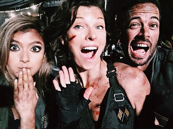 Ruby Rose Joins Milla Jovovich Family At Resident Evil: RESIDENT EVIL: THE FINAL CHAPTER Set Photos And Synopsis