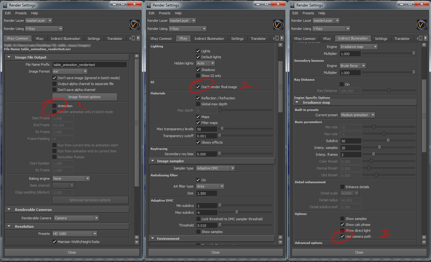 How to change resolution gate size in maya