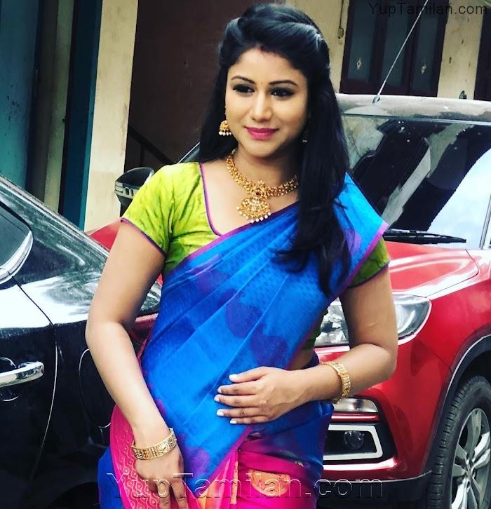 Raja Rani Semba Hot Photos-Alya Manasa Sexy Pictures in Saree