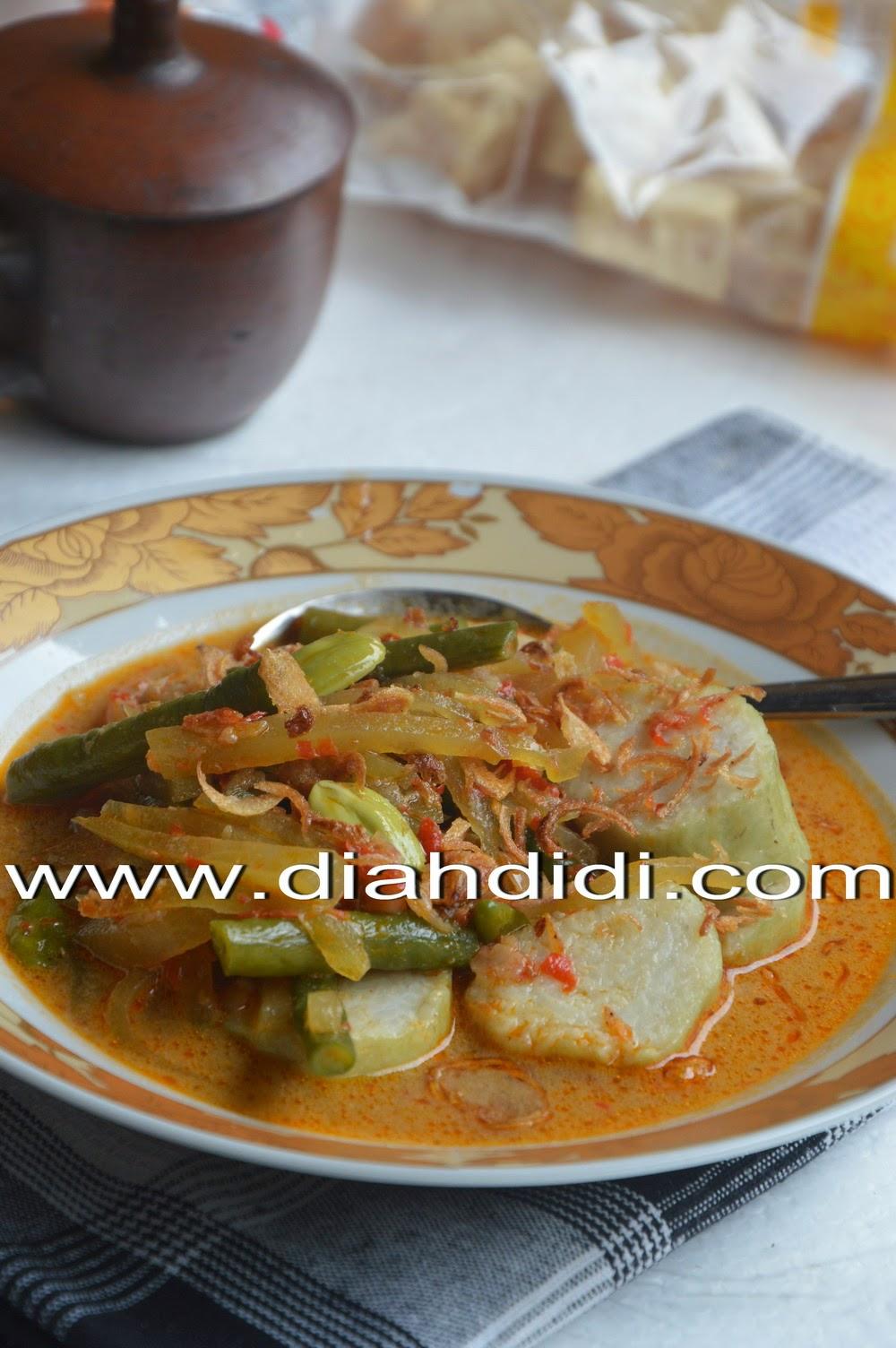Resep Kuah Lontong Lebaran : resep, lontong, lebaran, Didi's, Kitchen:, Lontong, Sayur